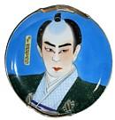 Самурай в придворной одежде рисунок